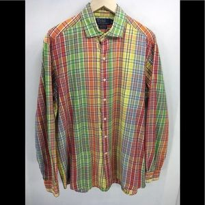 Polo Ralph Lauren Westerton Mens L Button Shirt